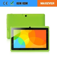 Multi Colors WiFi Touch Screen 7 Inch Android Tablet For Kids