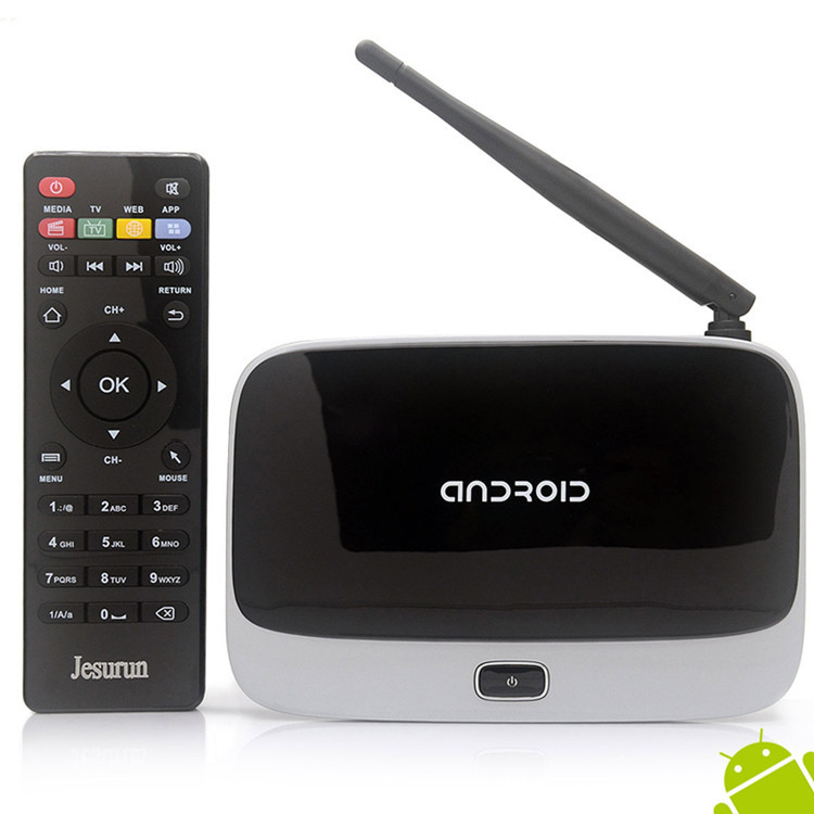 Media Player 8G Amlogic S805 android tv recievers with quad core installed kodi android tv box cs918 for OEM best choice