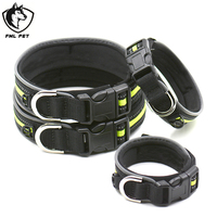 Hot Selling Low Price Custom Dog Training Collar Diving Material Waterproof Reflective Dog Collar