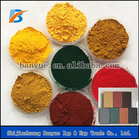 factory supply chemical color powder iron oxide pigment concrete dye for concrete beton brick paver