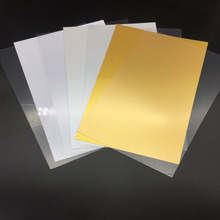 0.76Mm Glossy Plastic Instant PVC Sheet