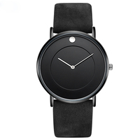 hot sell unisex simple fasion calssy design super thin watch for men and women