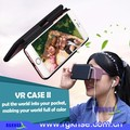 VR Phone Case with Virtual Reality 3D Glasses Game Protective Shell Cover Shockproof Can be put in the pocket easily