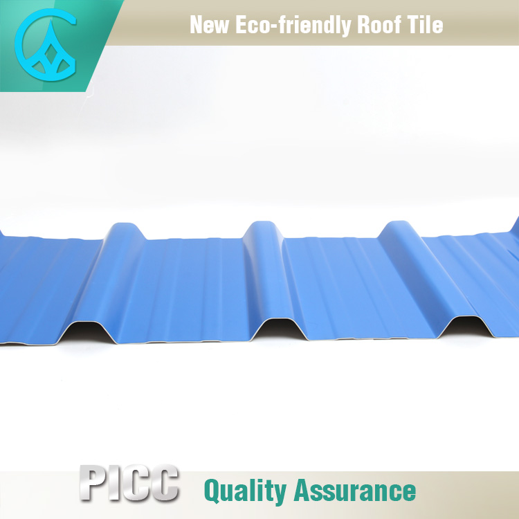 High Corrosion Resistance Blue Color Shingles Japanese Roof Tiles
