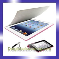 High quality Multi- colors Leather Cover for ipad