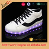 2016 hottest pu and rubber outsole colorful led sport shoes