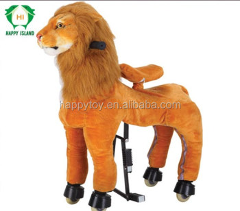 China cheap walking horse toys mechanical ride on horse rocking horses for adults for sale