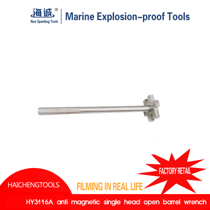 Aluminium Bronze Non Sparking Tools Striking Open Wrench