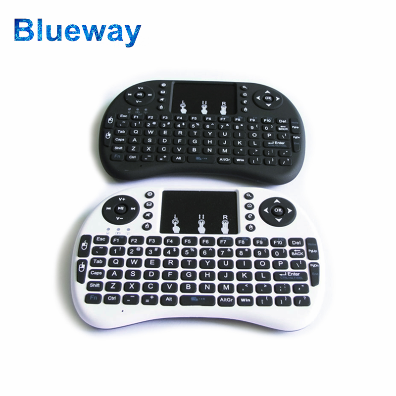 Cheapest Mini Keyboard, 2.4G Wireless Keyboard and Mouse i8, TV Remote Control