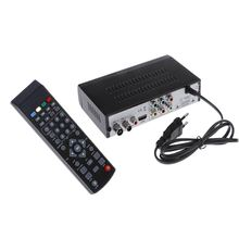 DVB-T2 High Definition HD Digital Video Broadcasting Receiver Set Top Box with MPEG-2/MPEG-4 H.264 with Remote Controller for TV