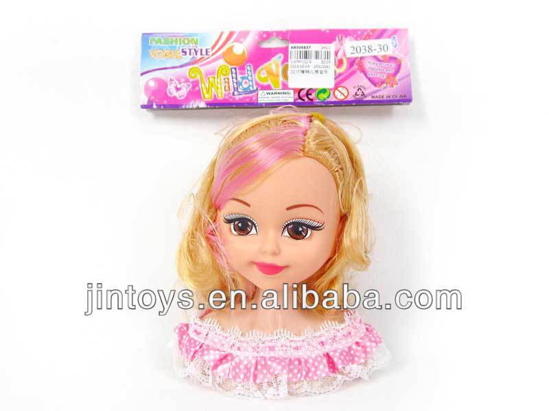 22Inch Beauty Model Head with Music,Doll Head,Doll Model --AN006857