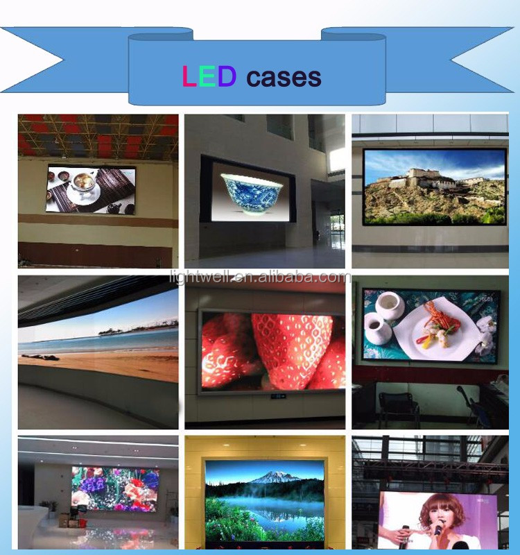 6mm Pixels and Video Display Function led display screen p6