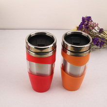 New design colorful coffee cup warmer car cup