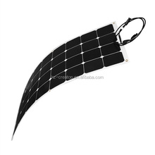 mono cell 100W EFTE type semi flexible solar panel