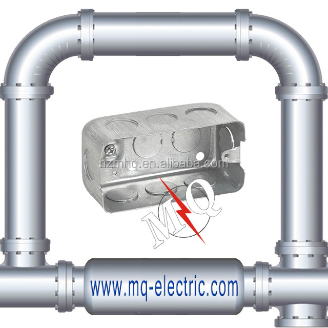 Rectangular Electrical Conduit Box/Junction Box/Switch Box