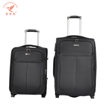 luggage factory supply hotsale leather suitcase vintage trolley case bag with laptop computer