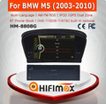 HIFIMAX new models radio For BMW M5 with USB DVD GPS IPOD Digital TVoptional turkish language