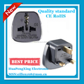Top quality CE travel electrical converter safety shutter us to uk travel adapter universal adapter