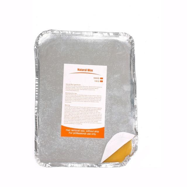 European green color hair removal brazilian hard wax for epilation factory price