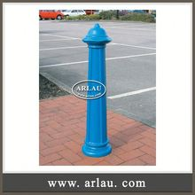 Arlau Metal Road Safety Barrier, Removable Steel Bollards, Steel Bollard Road Metal Bollard Removable Parking Bollard