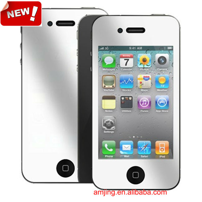 Manufacturer!! For iPhone 4 4s Screen Protectors,Mirror Protective Film