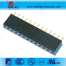 Single Row Straight 2.54mm pitch Female header plastic height 7.1mm 1x20P Female header
