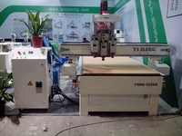 wooden door and furniture engraving machine three process cnc router for woodworking jinan yiming