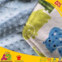 2015 fashion design MOQ10 pes like baby face lovely stars print baby blanket