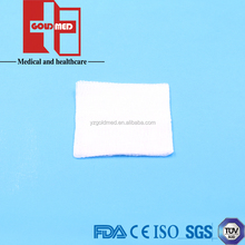 CE/ISO13485/FDA 100% cotton absorbent sterile gauze sponges / swabs