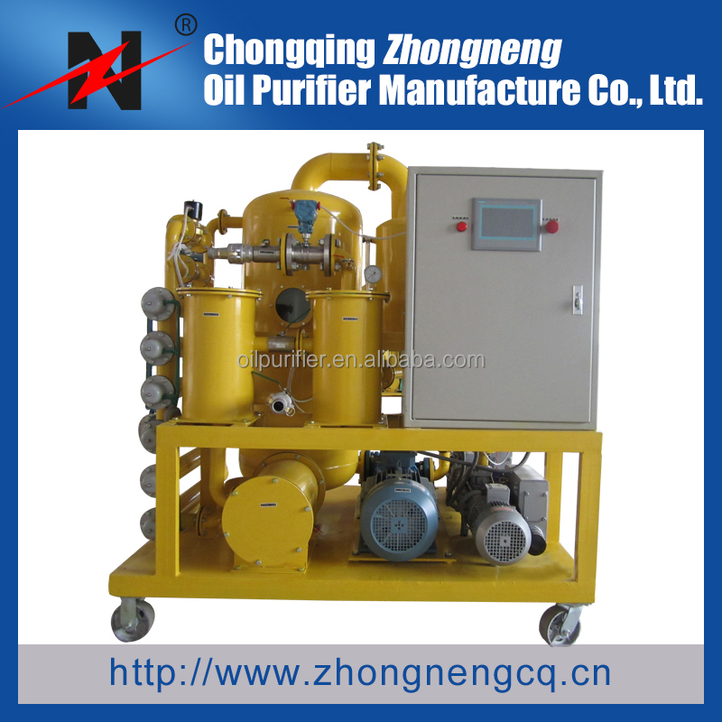 Series ZYD Double-stage High Vacuum Transformer Oil Purification System/Insulation Oil treatment/Dielectric oil reycling