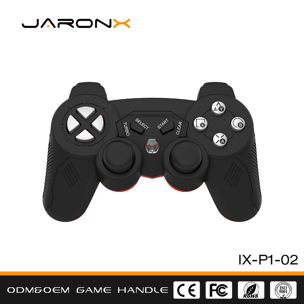 Wholesale FCC Certification Support ODM OEM 2.4G wireless PC connect Game handle, computer games joystick