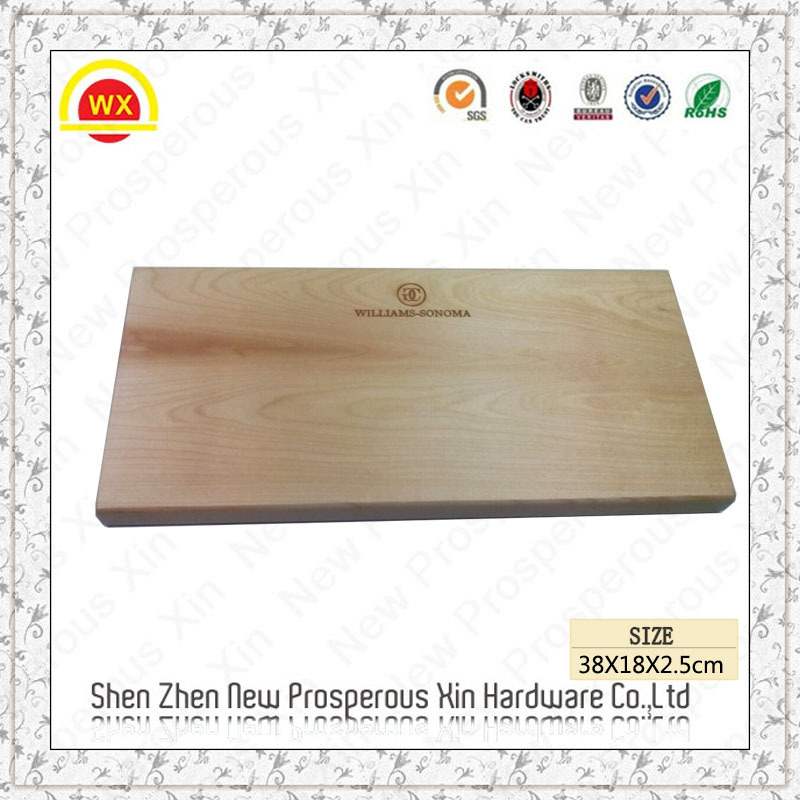 Wholesale custom burned chopping board beach bamboo cutting board