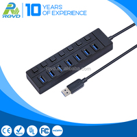 Super speed 5Gbps usb hub USB 3.0 7 port usb hub