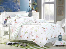 made in china printed cotton bedding set home textile
