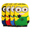 Professional Factory Wholesale For ipad 2/3/4 cute animal shaped silicone despicable me 2 minion case,50pcs/lot