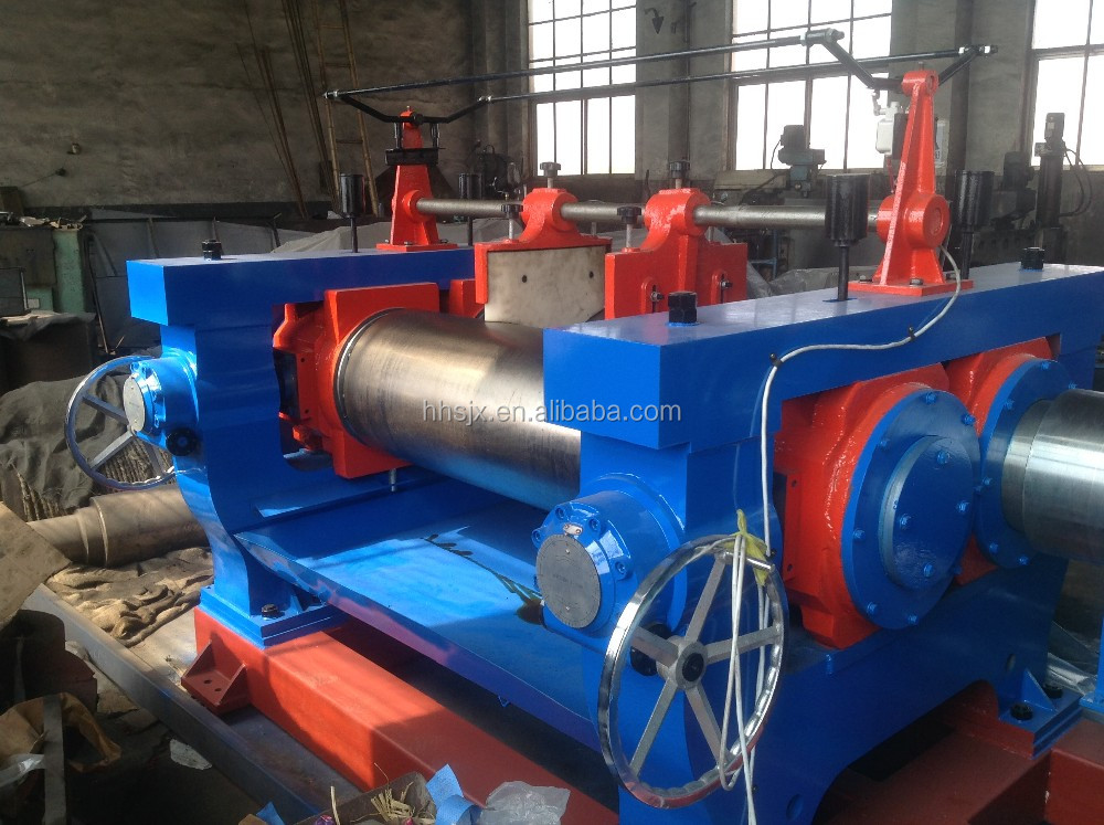 high ouput open rubber mixing mill/ two roll mill / rubber mixing machine