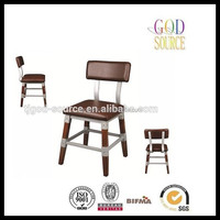 cheap price metal and wood chairs