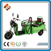 Electric tricycle adults with passenger seat,3 wheel electric scooter