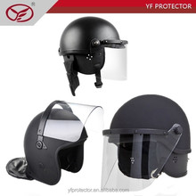 ABS full face shield anti riot helmet with visor