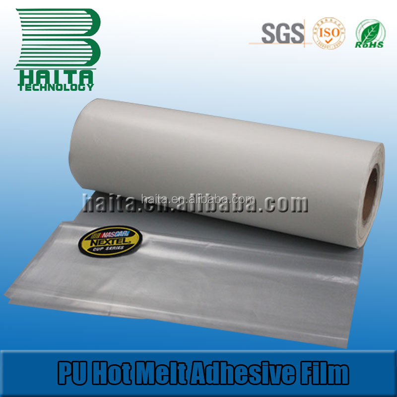 PU Hot Melt Adhesive Membrane & Hot Melt Glue Stick Film For Fur Garment And Leather
