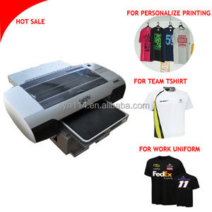 A3 t shirt printers with white color control software for sale