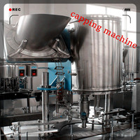 Automatic Small scale carbonated soft drink bottling machine for low cost factory