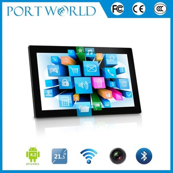 21.5 inch big size android tablet with wifi quad core AOI tablet pc