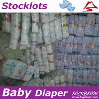 Good Quality Large Quantity Cheapest Disposable Second Grade Baby Diaper Supplier from China
