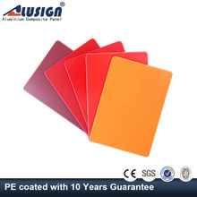 Alusign sheet metal flashing Aluminum Composite Panels well-known high light panel
