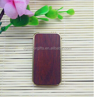 High quality red wood metal usb charge lighters,customized eco-friendly souvenir