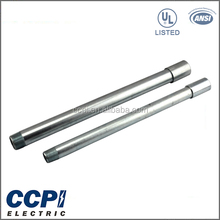 CCPI UL Standard Free Sample High Quality 10ft./3.05m Rigid Galvanized Surface Finish Electrical Conduit Tubing
