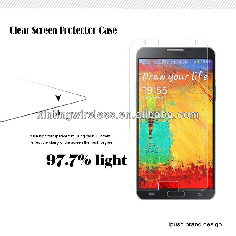 Factory Price Clear Screen Guard For Samsung Note3,Handset Screen Guard Film For Samsung