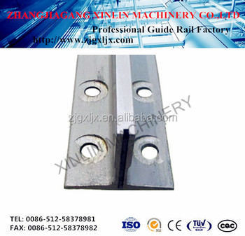 Elevator and lift parts of machined guide rail T75-3/B