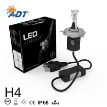 Auto lighting system front headlamp led h4 hi/low car led headlight h13 9004 9007 led lighting best led h4 headlights